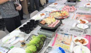 調理イベント サムギョプサル