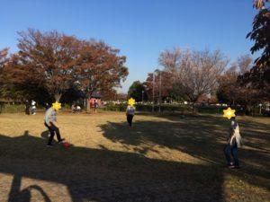 公園でリフレッシュ(サッカー)