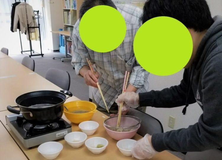 調理イベントお汁粉