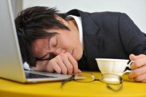 サンプル画像(居眠り)